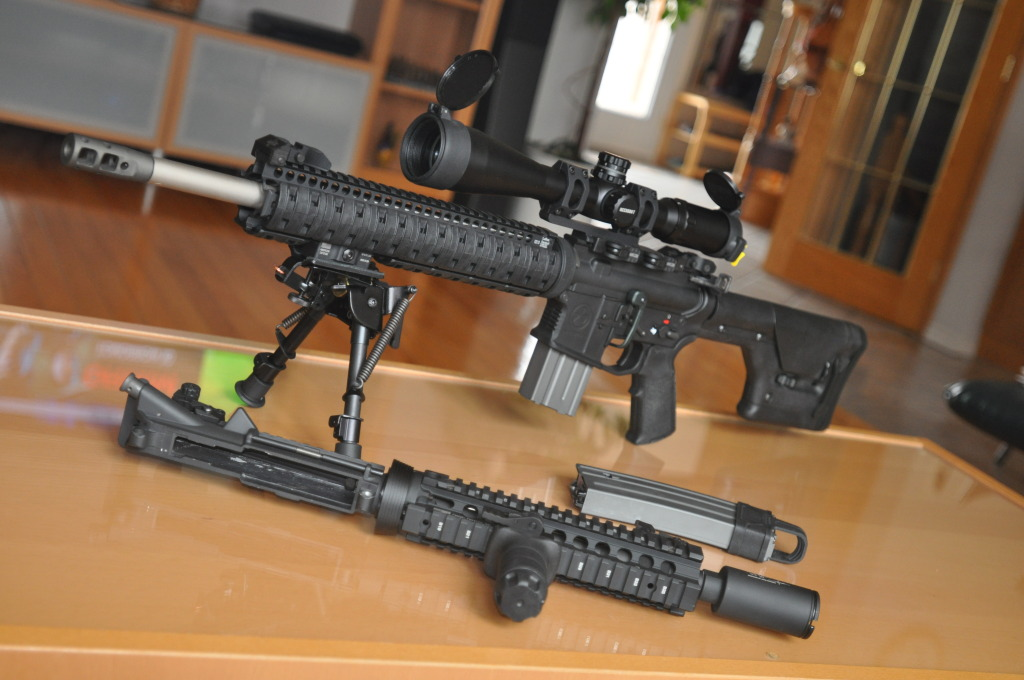 Larue/Magpul DMR M4 - Airsoft Weapon Builds M16 Airsoft