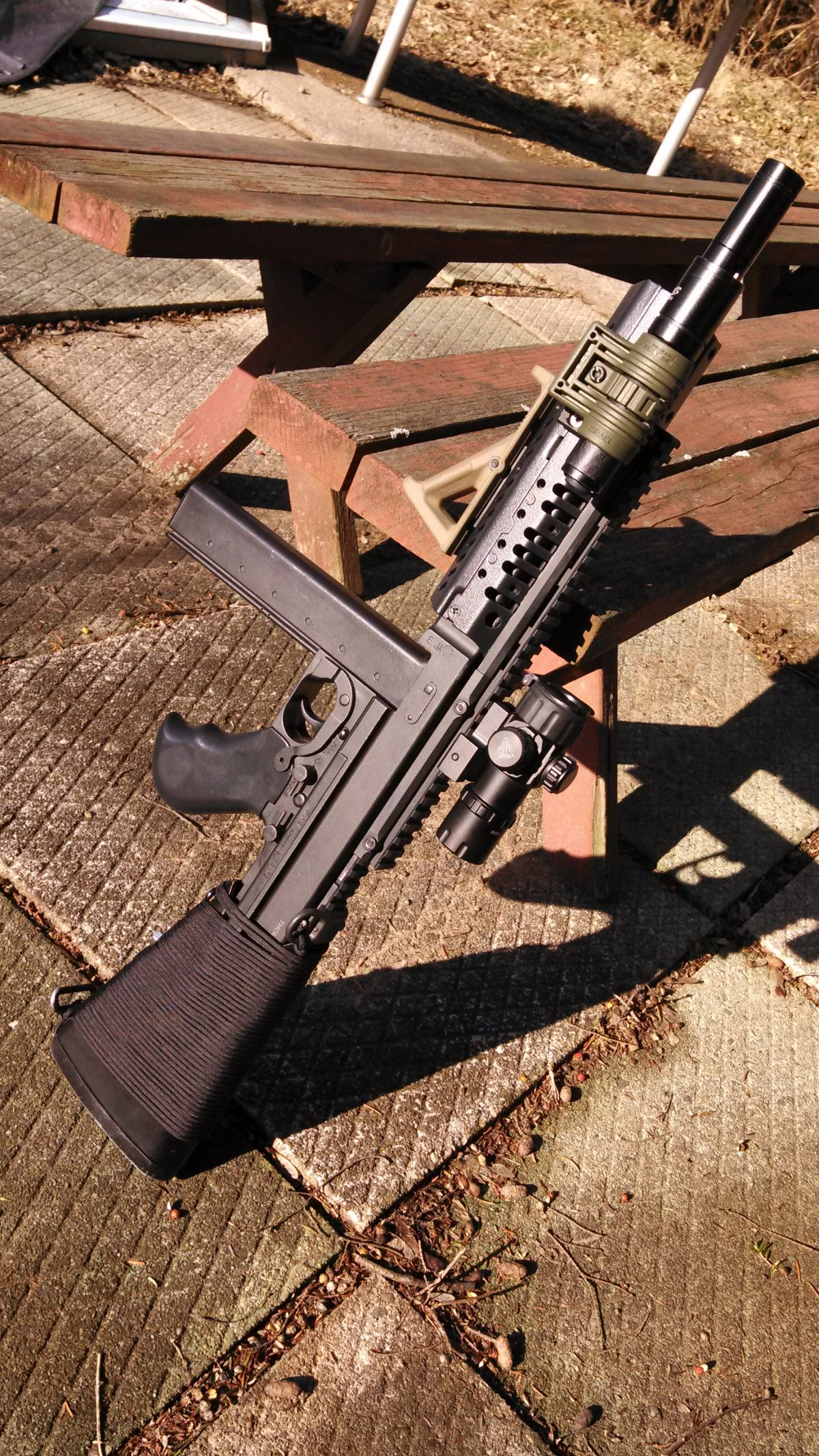 Tactical Thompson Airsoft Weapon Builds