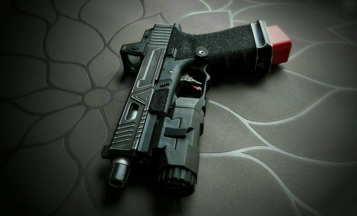 Agency Arms G19 Urban Combat Airsoft Weapon Builds