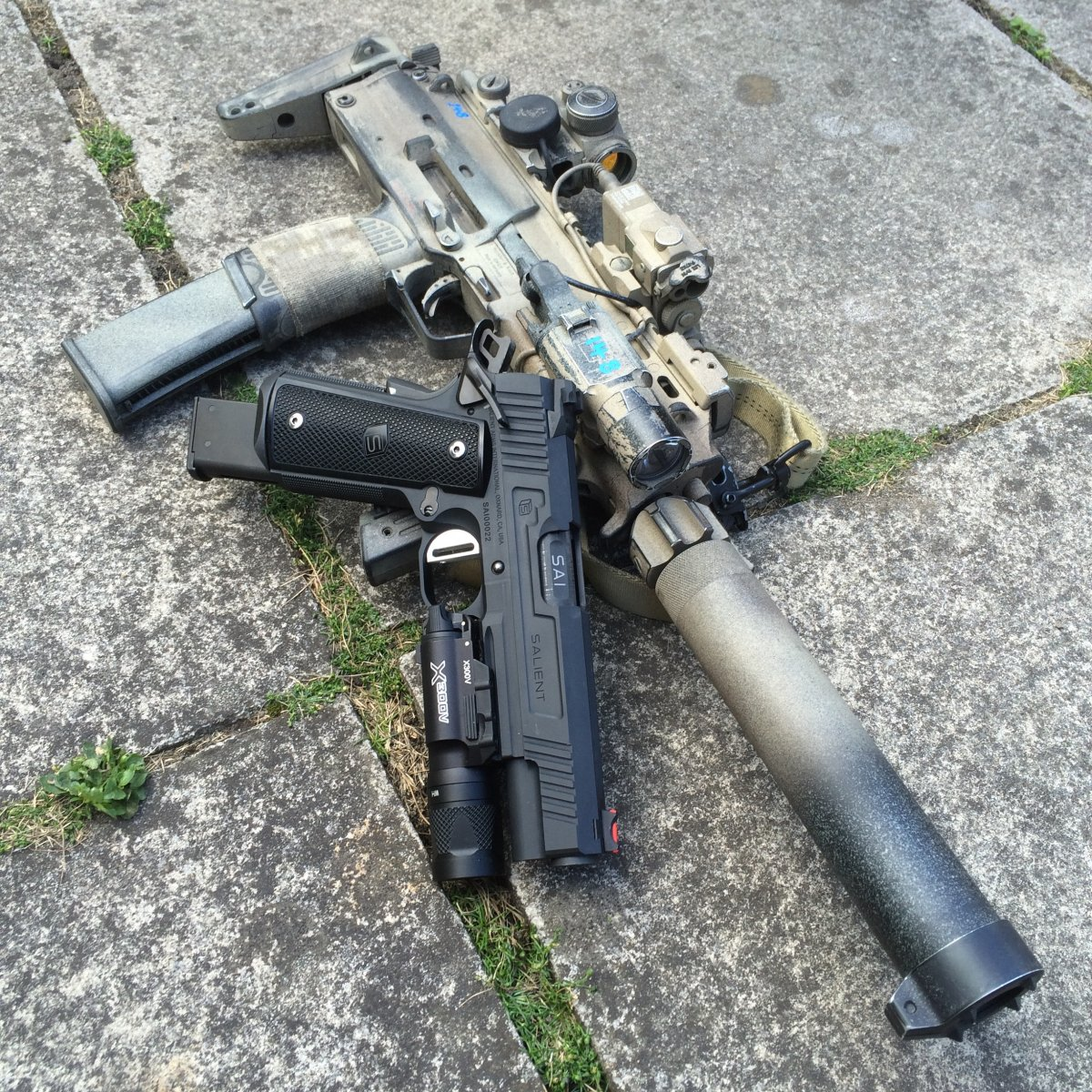 Tier 1 Operator MP7A1 - Airsoft Weapon Builds M14_ebr