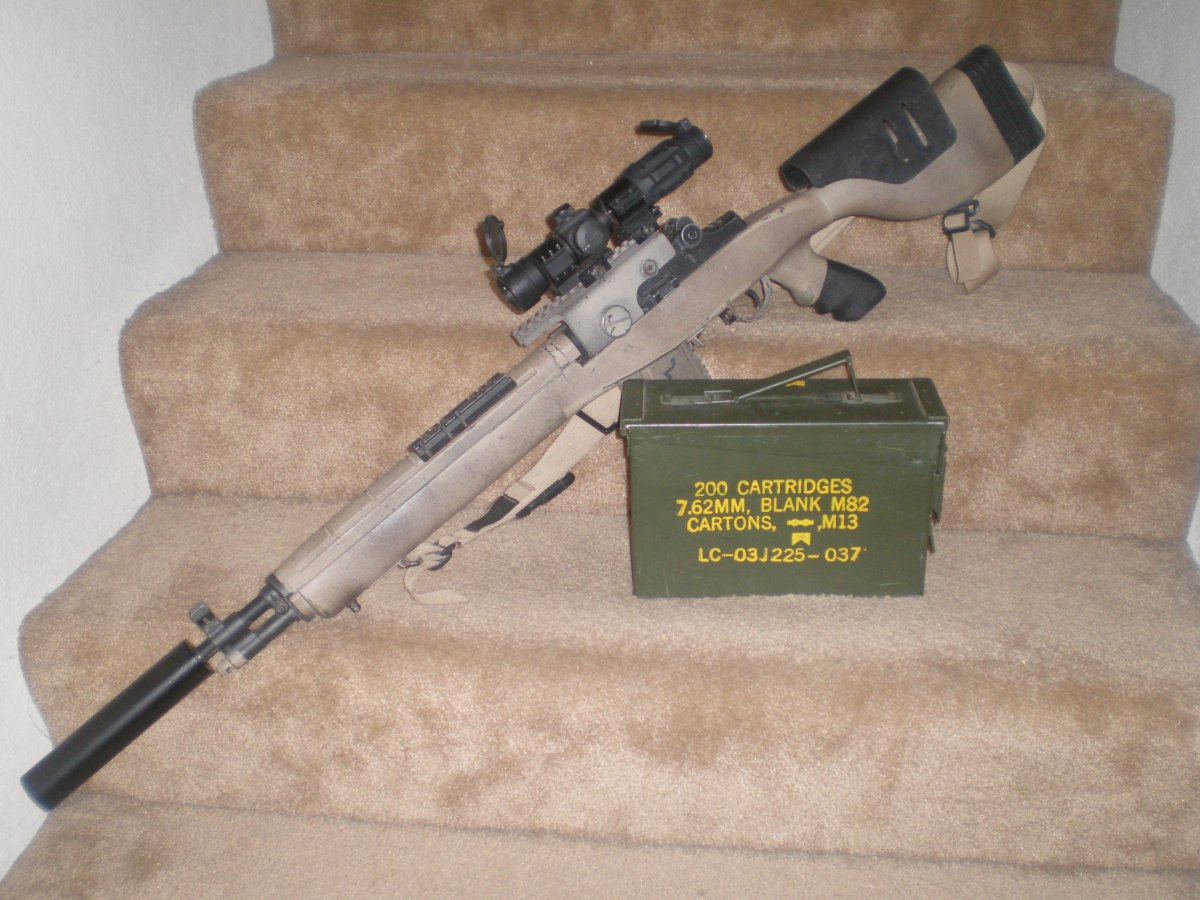 Overkill TM M14 DMR Scout - Airsoft Weapon Builds M14 Ebr Airsoft