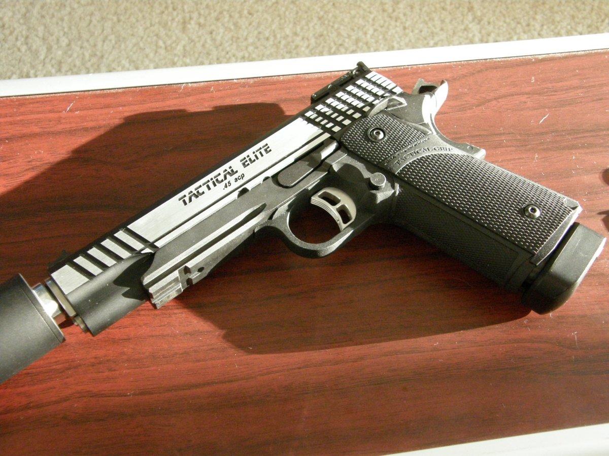 Hi Capa 5 1 Tactical Elite Custom Airsoft Weapon Builds