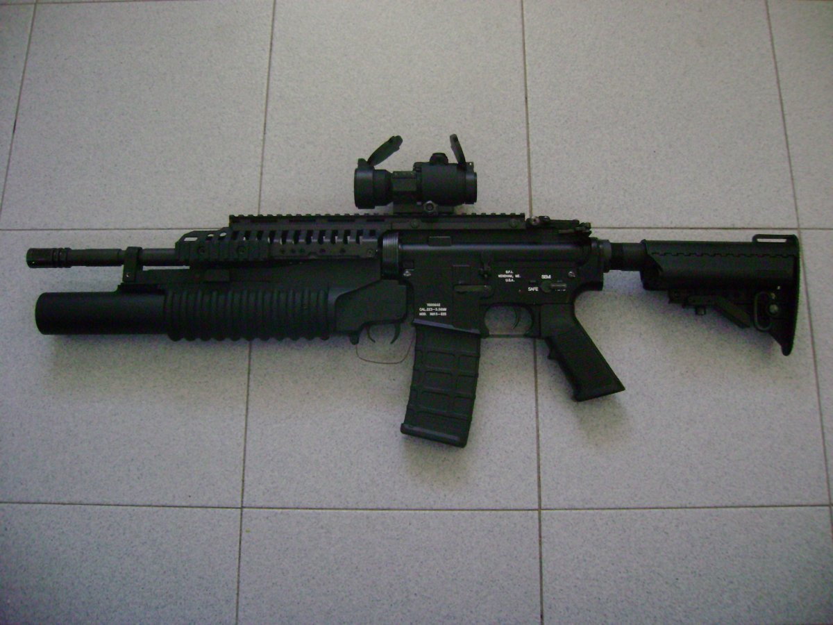 M4 M203 Casv Airsoft Weapon Builds