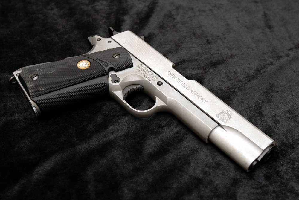 Sfa M1911 Silver Airsoft Weapon Builds