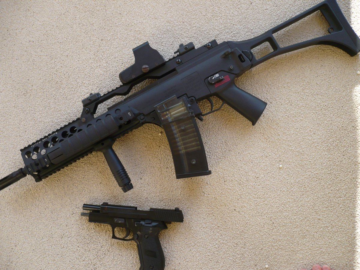 Classic Army G36k Ksk Airsoft Weapon Builds