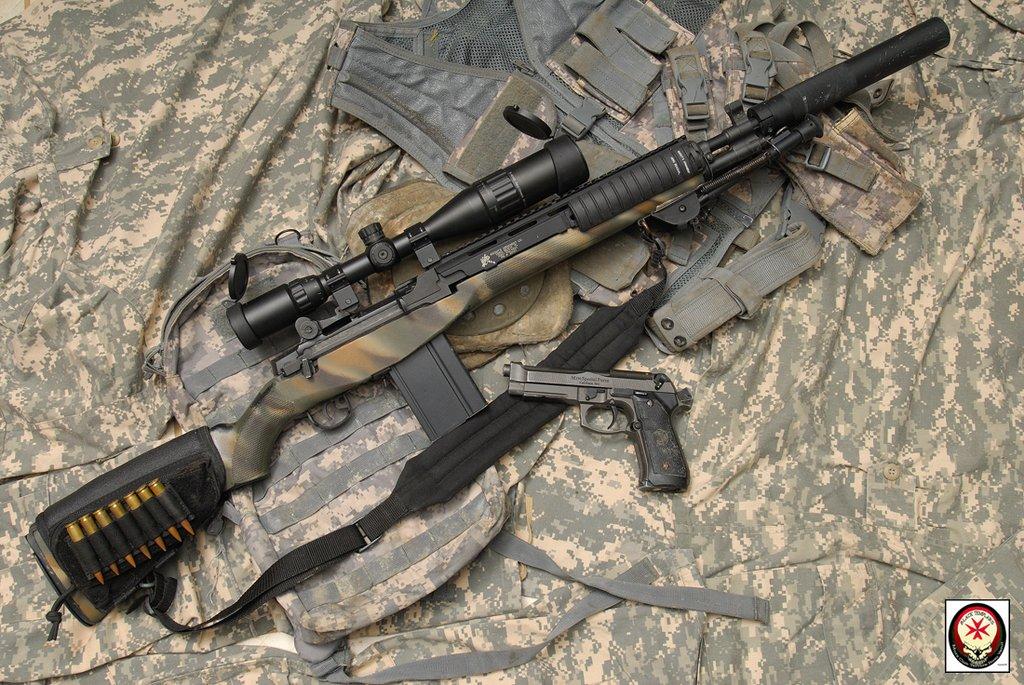 really nice M14 Socoms   M14 Socom