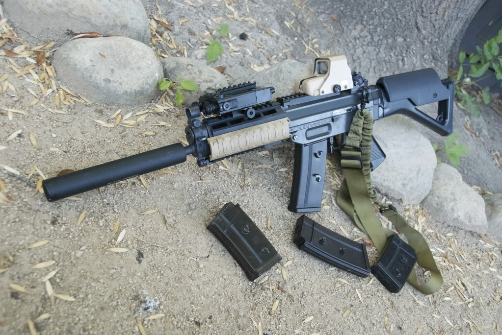 Sig 552 Airsoft Weapon Builds