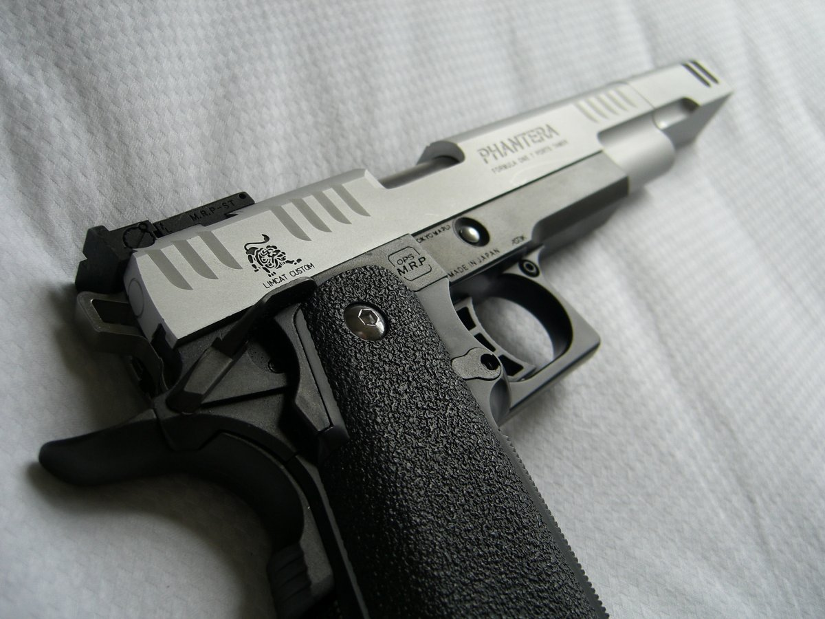TM Hi Capa 5 1 Limcat Phantera - Airsoft Weapon Builds