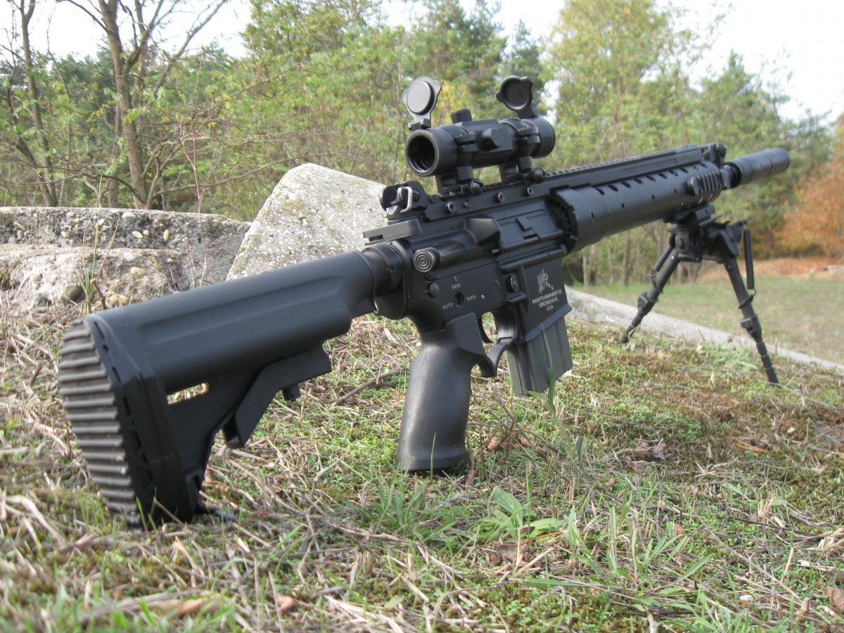 Meclada Spr Mk12 Airsoft Weapon Builds