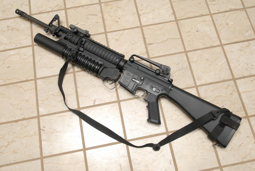 USMC FN M16A4 - Airsof...