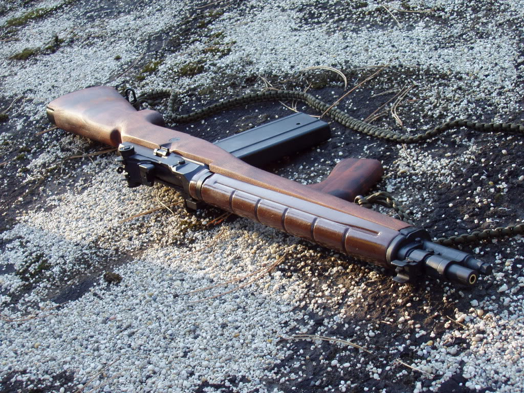 Anzac S A S Custom M14 Airsoft Weapon Builds