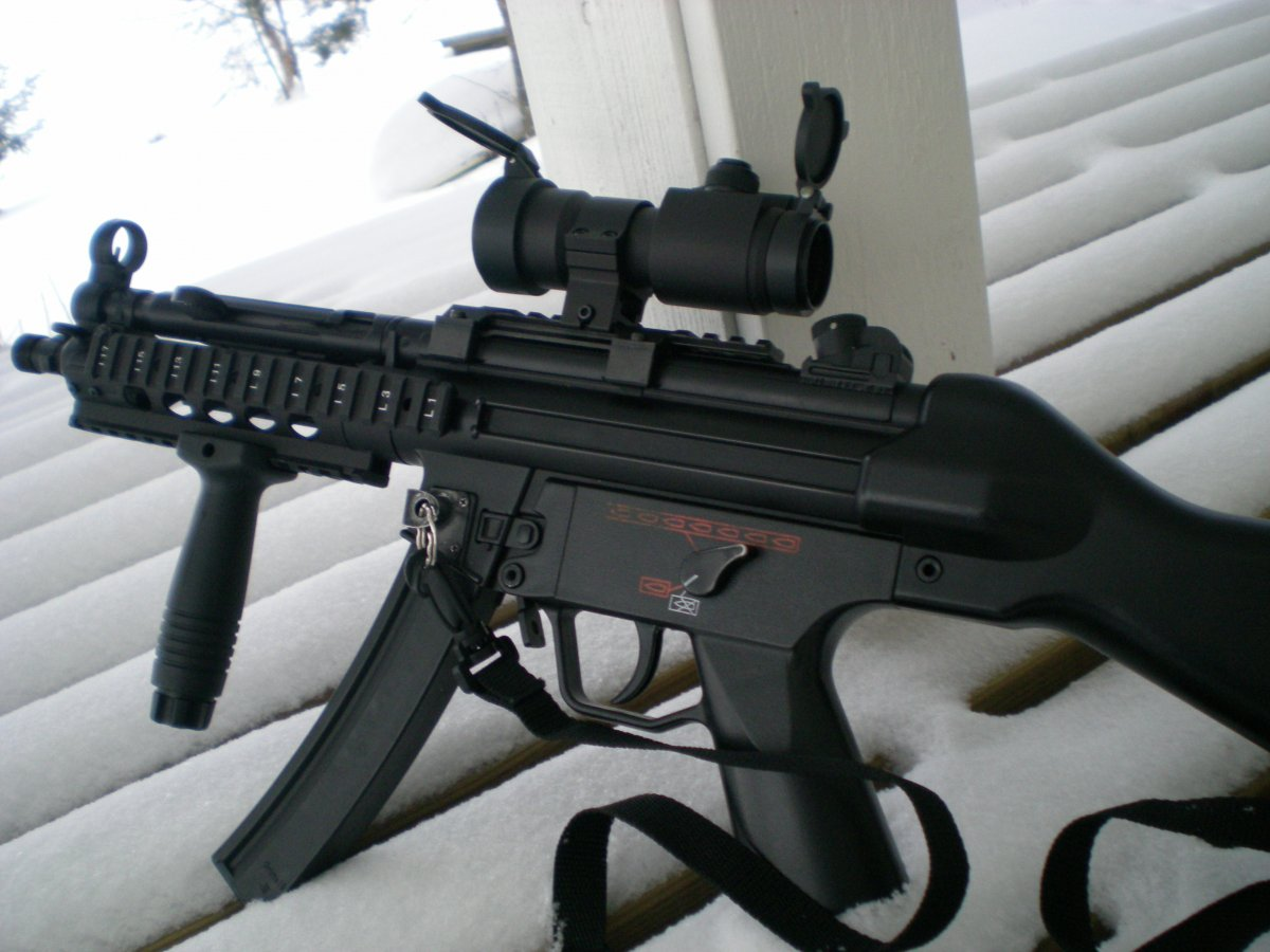 Mp5 Ris Airsoft Weapon Builds