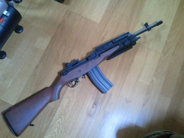 Ruger Mini 14 - Airsoft Weapon Builds