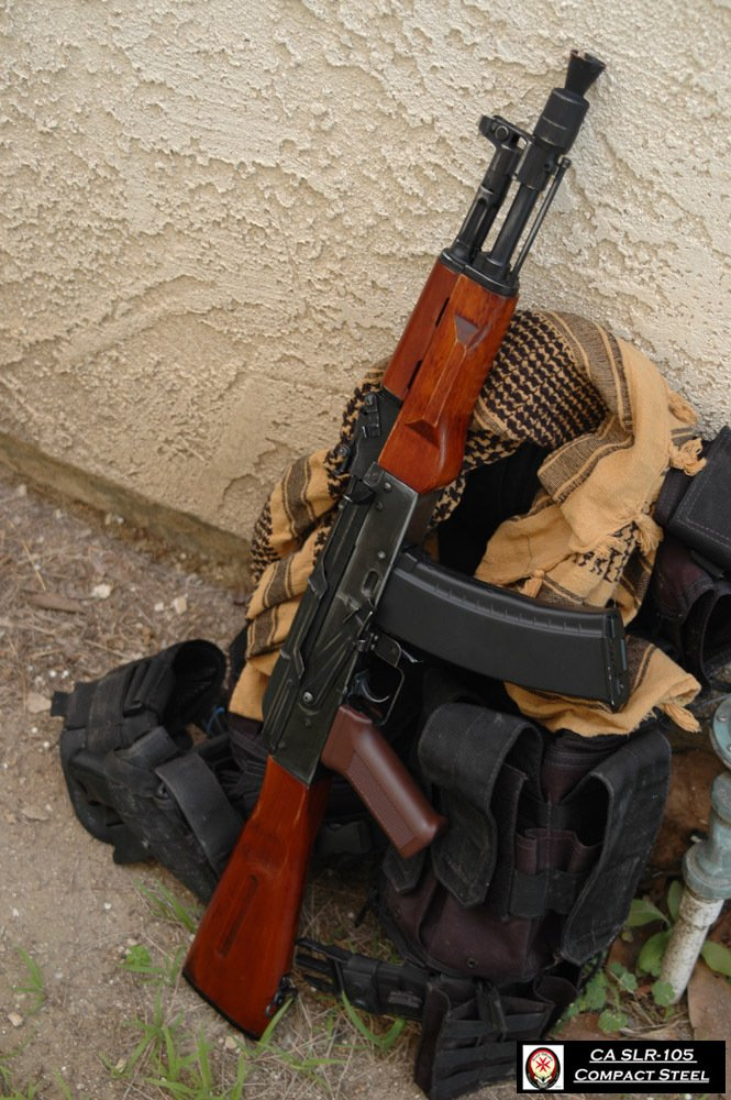 ak105 wood version airsoft weapon builds